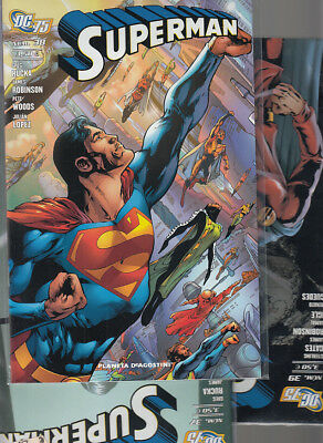 SUPERMAN   Nºs   37. 38. 39  ( LOTE 3  NUMEROS )  EDITORIAL PLANETA.