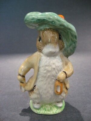 Royal Doulton Porcelain Beatrix Potter Benjamin Bunny Figurine by John Beswick