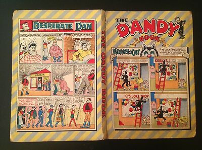 The Dandy Book Annual 1956 Complete With Full Spine Korky Desperate Dan Rare