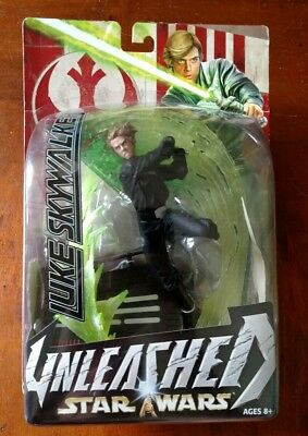 Star Wars Unleashed Jedi Luke Skywalker Figure Moc