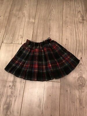 Next Tartan Girl Skirt Age 9-12 Months