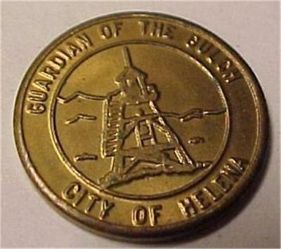 Helena-Parking Downtown Free Gold Coin-Guardian Of The Gulch  #2752C