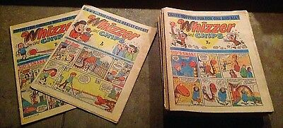 28 Copies Of Vintage Whizzer & Chips In Period May 1977 - April 1978