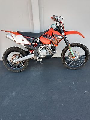 2007 KTM Xcw  KTM 525 xcw 507 miles from new ahrma Enduro isdt Motocross flat track renthal