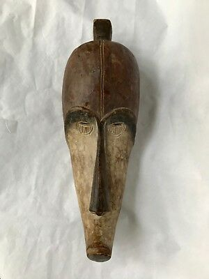 African Art Fang Mask From Gabon 21 inches