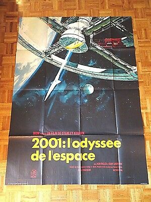 Keir Dullea, Gary Lockwood 2001: A Space Odyssey 1968 Mgm French One Panel