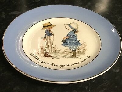 'Petticoats And Pantaloons' Between You And Me...your'E As Nice As Can Be Plate