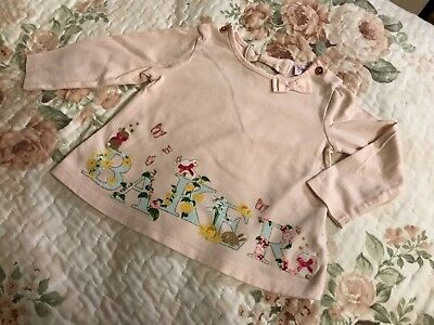 ted baker baby girl top 6-9 m