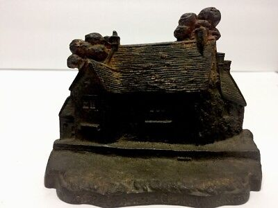 GEORGE WASHINGTON Home Of. ANTIQUE Vintage CAST IRON DOORSTOP Bookend
