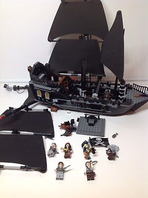 Lego Star Wars Black Pearl Pirates Of The Caribbean 4184 Incomplete