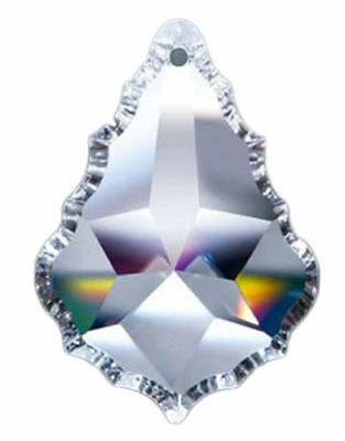 Set of 20-38mm Asfour Clear French Cut Pendant Crystal Prisms Wholesale CCI