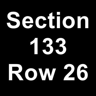2 Tickets Miami Hurricanes vs. Pittsburgh Panthers Football 11/24/18