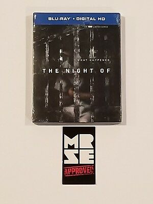 The Night Of Blu-ray + Digital (HBO TV Limited Series, 2016) Brand New Sealed