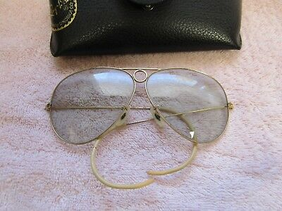 Vintage Ray-Ban Bausch & Lomb Wrap Around Aviators bullet