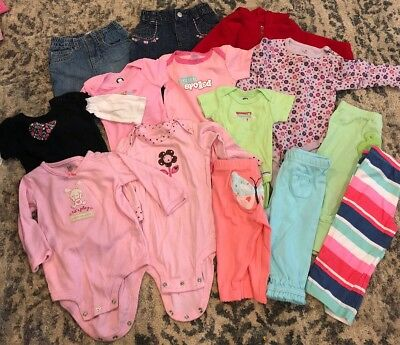 Baby girl Lot Sizes 0-9 Months