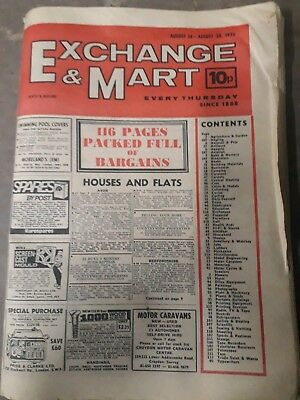 old exchange & mart magazine 1975