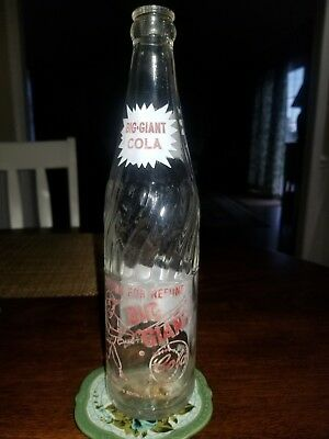 Vintage Soda Pop Bottle - Big Giant Cola 16 oz.