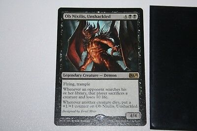 1x Ob Nixilis, Unshackled MTG Magic the Gathering actual pict. ship from Canada