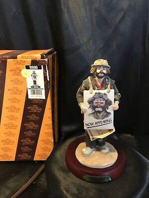 the emmett kelly jr signature collection Now Appearing Signed BOX