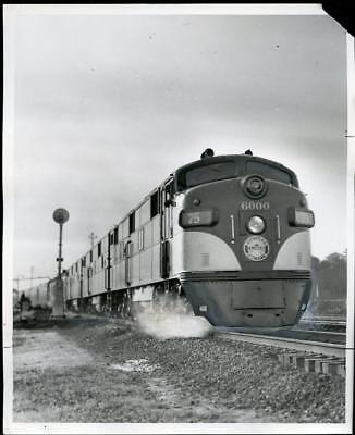 1958 Southern Pacific Lines Train Original 8 x 10 Photograph