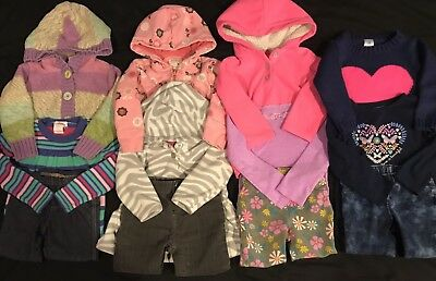 Baby Girl 18 Months Fall Winter Clothes Lot. Outfits. Gap. FREE SHIPPING