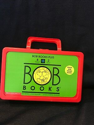 Bob Books Plus Collection with carrying case--8 readers and 2 activity books!