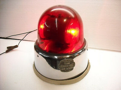 Vintage Emergency Light, Police, Fire, Ambulance, Beacon Ray