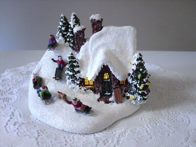 "Thomas Kinkade-Christmas Teleflora 2009 ""The Sleigh Ride"""