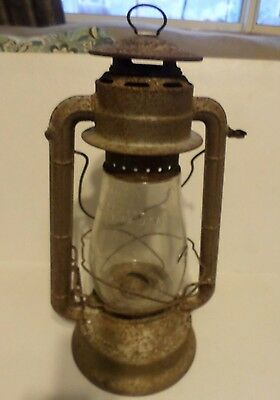 Vintage Antique 1915 Dietz Fitzall New York Barn Railroad Oil Lantern