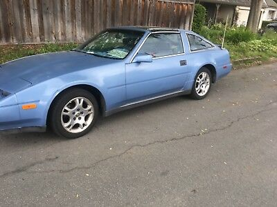 1987 Nissan 300ZX 2+2 1987 300zx 5speed T Tops 2+2 Light Blue 202K