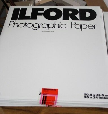 Lot 10x 10 Sheets Ilfospeed RC Deluxe Gloss 2.1m Photo Paper 20x24""