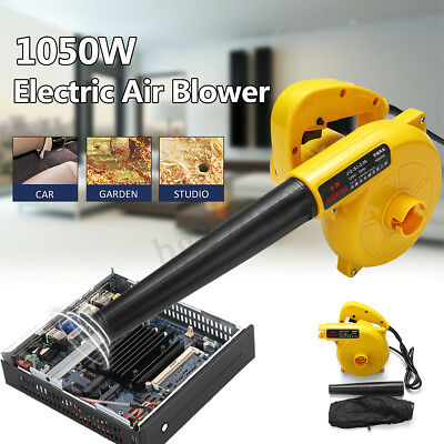 220V 1050W Electric Handheld Air Blower For PC Garden Leaf Vacuum Dust Cleaner