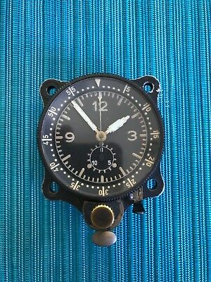 Junghans Cockpit Chronometer Clock, 30BZ, WWII