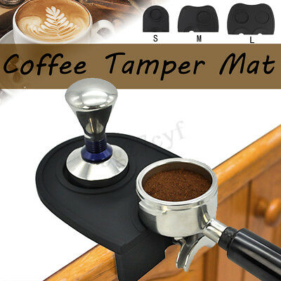 S/M/LSilicone Espresso Coffee Tamper Mat Tamping Holder Pad Antislip Dropped Pad