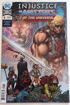NYCC 2018  INJUSTICE VS MASTERS OF THE UNIVERSE # 1 SIGNED Tim Seeley