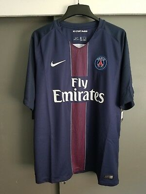 new concept adfcd a4ff7 2016-17 NIKE PARIS Saint-Germain PSG Jersey (MSRP $90) Men's 2XL