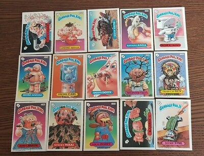 Garbage Pail Kids UK Series 6 x 15 Cards