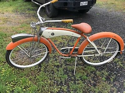 vintage monark push bike usa import project bike