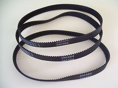 3X Drive Belt  384 3M 12 ELECTRIC RAZOR SCOOTER PULSE BIKE ROCKET E10