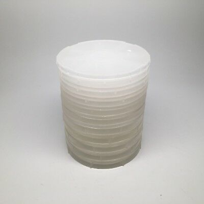 """Lot of 10 Single 6"""" inch Wafer Coin-Style Shipper"""