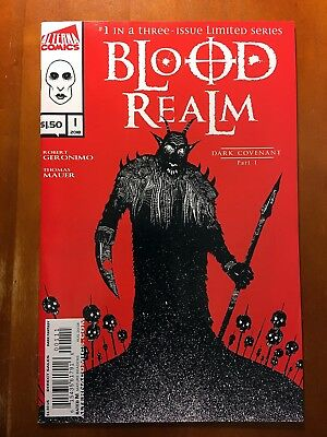 BLOOD REALM #1 1st PRINT ALTERNA COMICS!