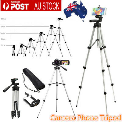 Stretchable Camera Phone Video Tripod Stabilizers Holder Live Streaming Stand AU