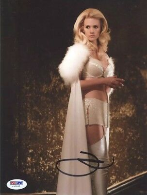 January Jones Mad Men Last Man Earth Signed Autographed 8x10 Photo PSA/DNA COA