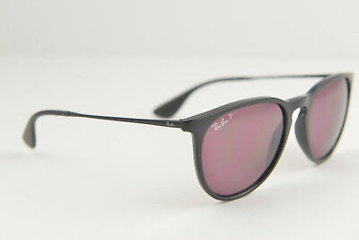 Ray-Ban women's sunglasses RB 4171 Erika 601/5Q 54-18 145 3P Black polarized