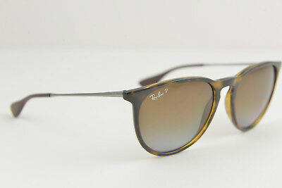 Ray-Ban women's sunglasses RB 4171 Erika 710/T5 54-18 145 Havana Brown polarized