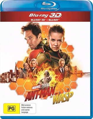 Ant-Man And The Wasp (3D Blu-ray, 2018) (Region B) New Release