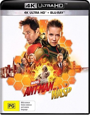 Ant-Man And The Wasp (4K UHD/Blu-ray, 2018) (Region B) New Release