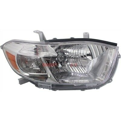 New  Head Lamp Assembly Right Fits 2010 Toyota Highlander 811100E090 Capa
