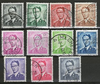 Belgium #2 : 11 Old Stamps - Used