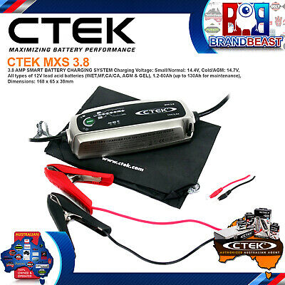 CTEK MXS3.8 12V 3.8A Battery Charger Maintainer